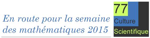 bandeau semaine des maths 2015